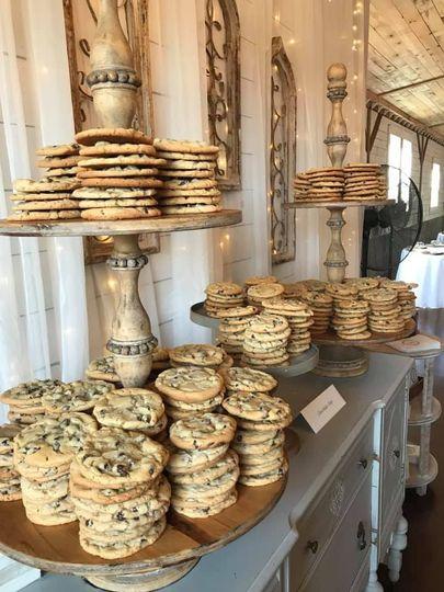 Giant cookies