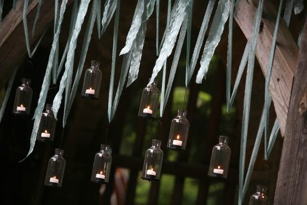 Hanging votives