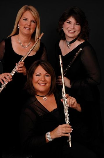 Three Flutes Only as seen at Sea World, Disney and more. Flute Trio