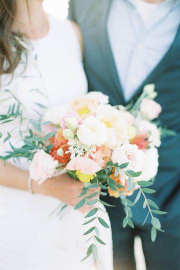 Flowers for an elopment