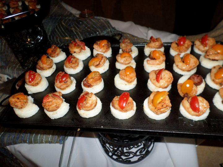 STF's Signature Shrimp & Grits Appetizer