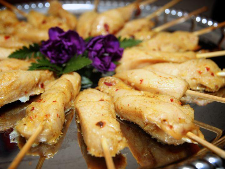 Tmx 1416423679928 Chicken Satay Rochester wedding catering