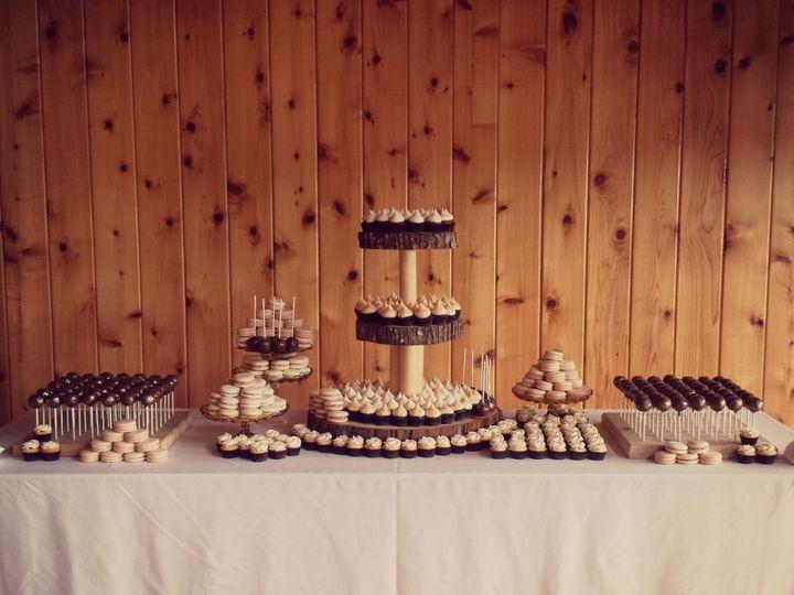 Tmx 1539281495 5225a57073654231 1539281494 32a20118502b11bf 1539281490816 6 Wedding Buffet Silverdale wedding cake