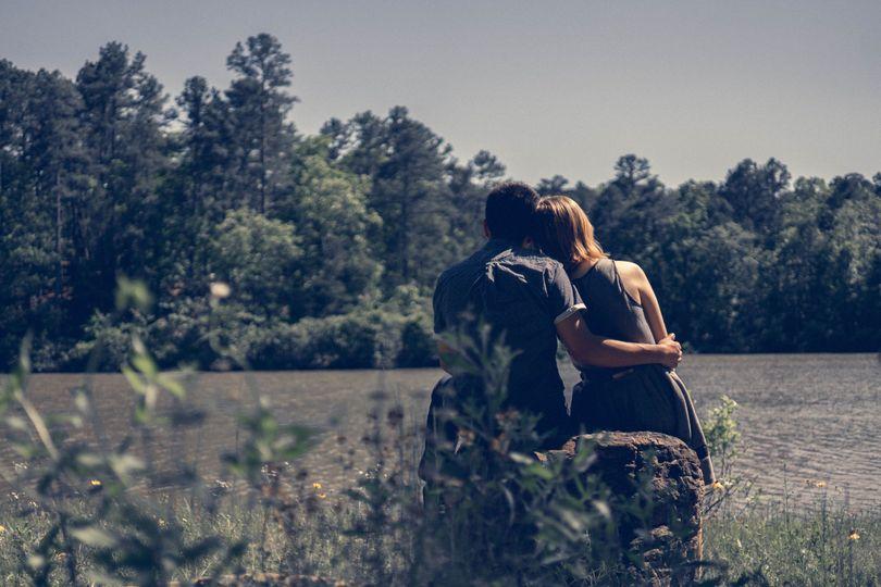 Dreamy Engagement Photo