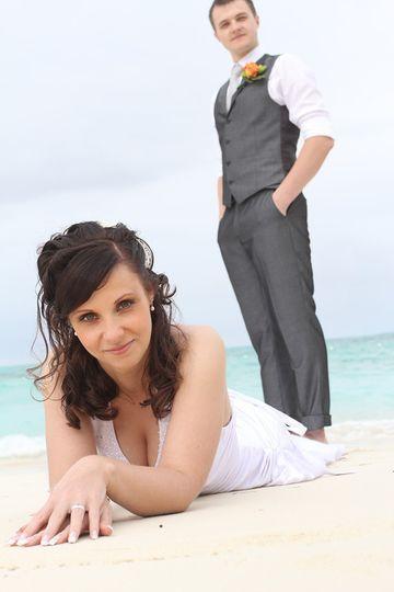 Couple portrait - Photo Credit: Dominic Dumcombe