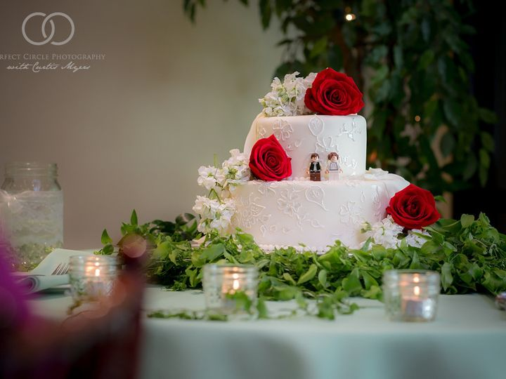 Tmx 1422548511731 Perfectcirclephoto1406211630fb San Rafael, California wedding cake