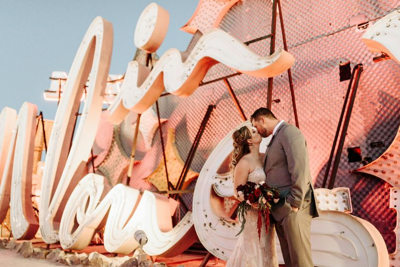 neon museum wedding las vegas nevada golden nugget photography by v ally and dan 3366 51 988293