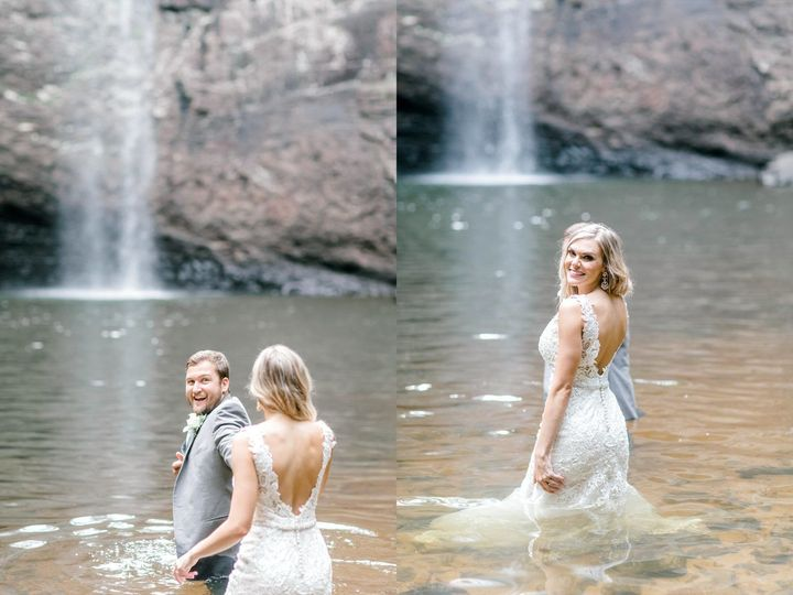 Foster Falls Photo shoot after the wedding... just a few miles away!JLindsey Photography
