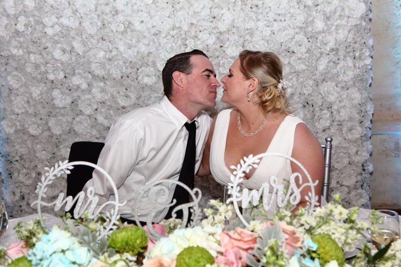 Mr & Mrs Head Table
