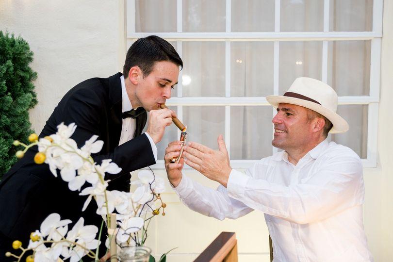 Cigar Roller For Reception