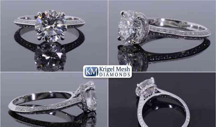 Krigel Mesh Diamonds