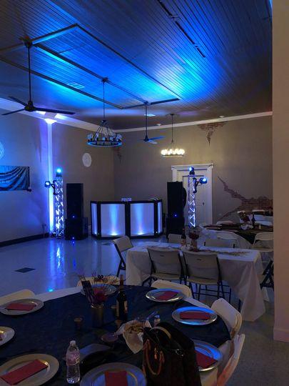 Wedding in a small venue