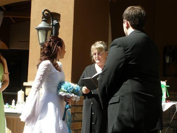An autumn ceremony in Arizona.