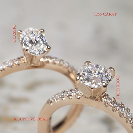 Classic Round and Oval Rings