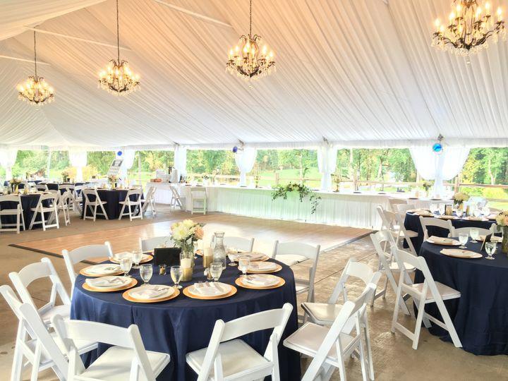 Pavilion Tent Interior