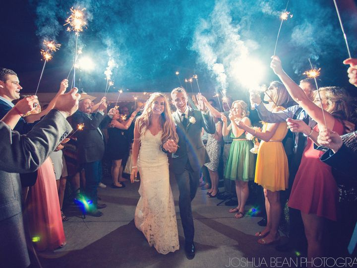 Tmx 1504911356172 Bg Sparkler Send Off Camas wedding venue