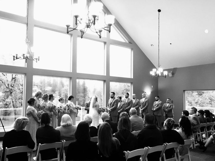 Tmx 1504911391123 Ballroom Ceremony Bw Camas wedding venue