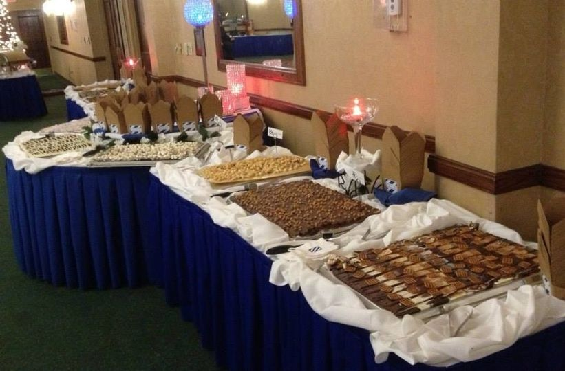 candy brittle table