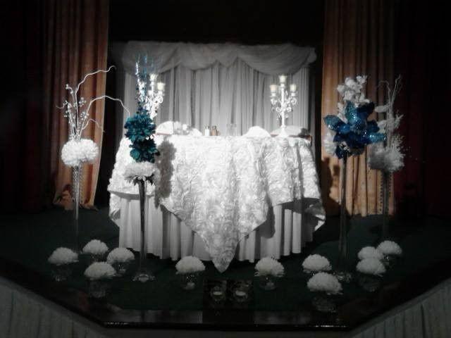 white princess table