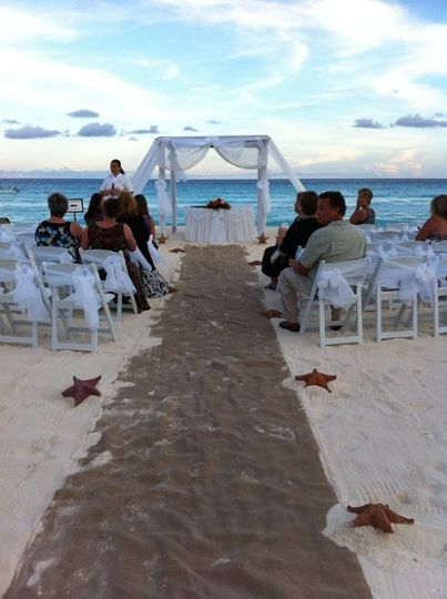 The Royal Cancun Beach Wedding