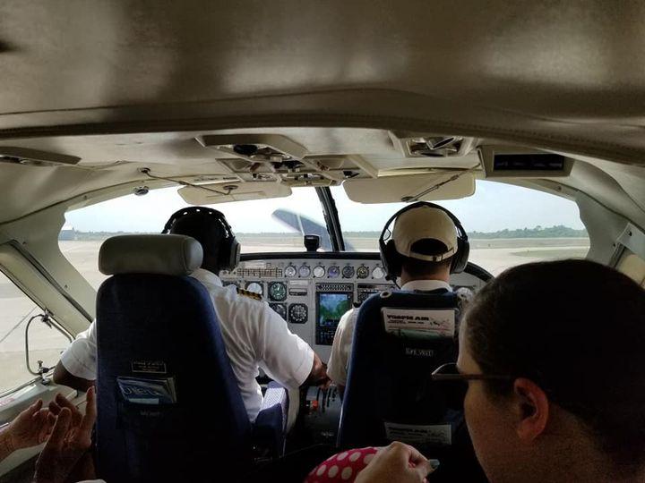 Belize plane