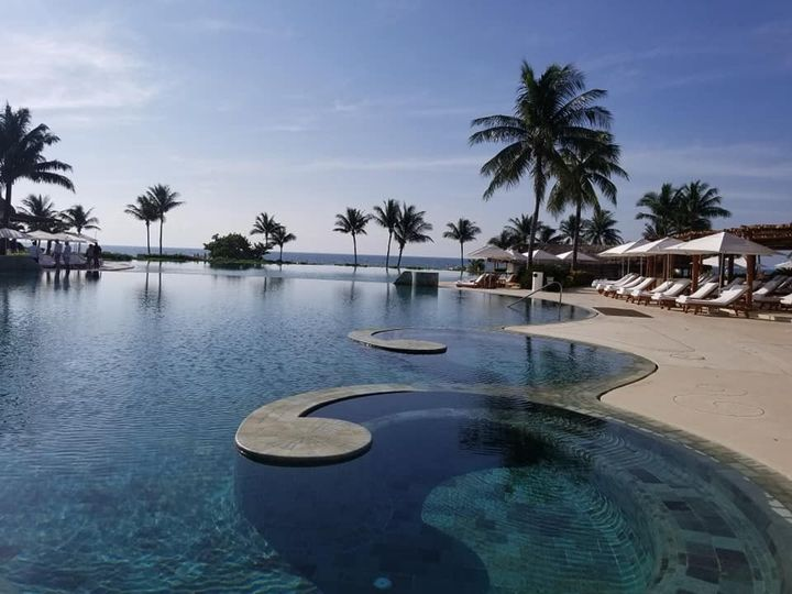 Grand Velas, Riviera Maya pool