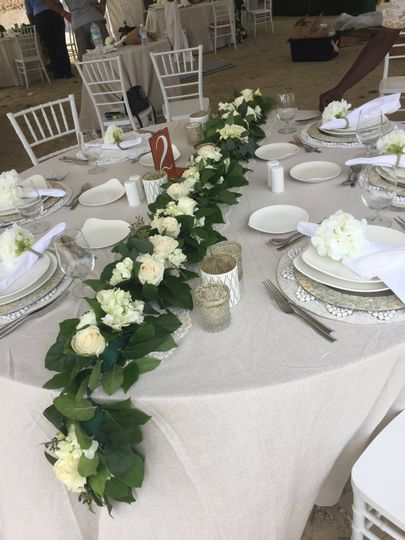 Jamaica: Wedding Table Design