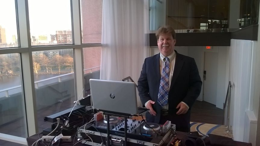 Frank the DJ at the Hyatt