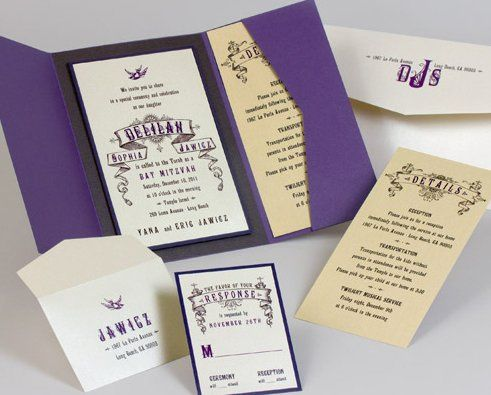 Tmx 1336294540943 Batmitzvah Sacramento wedding invitation