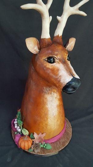 deer head bart01 cake 09 17 2016