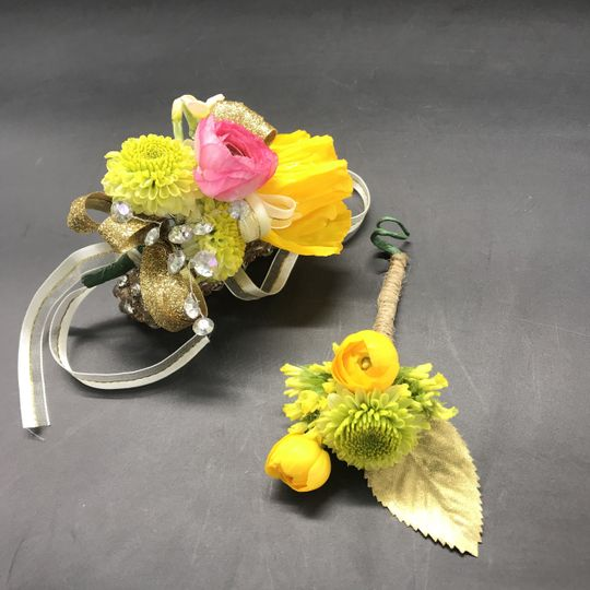 Bout and Corsage