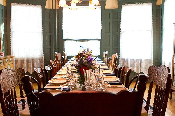 Private sit-down dinner in the inn's Dining Room...