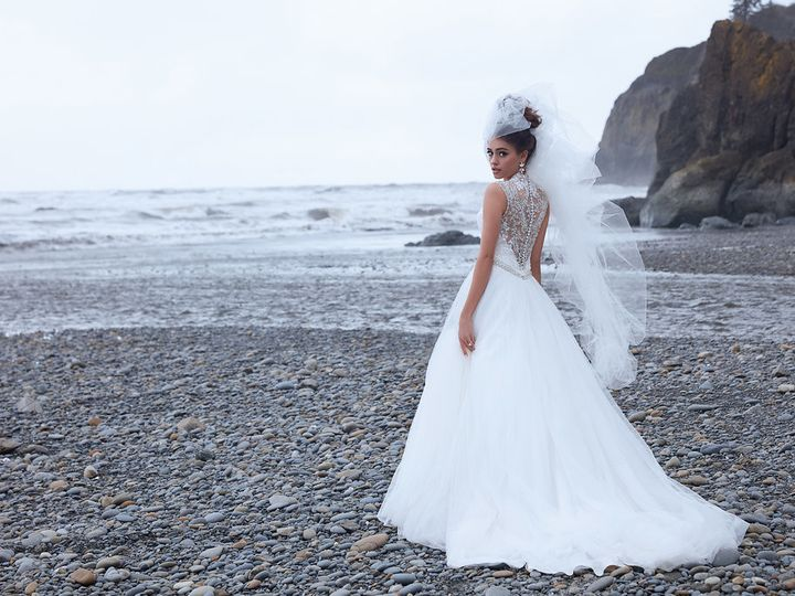 Tmx 1508021383614 9162h Ad1 Blue Williamsburg, Virginia wedding dress