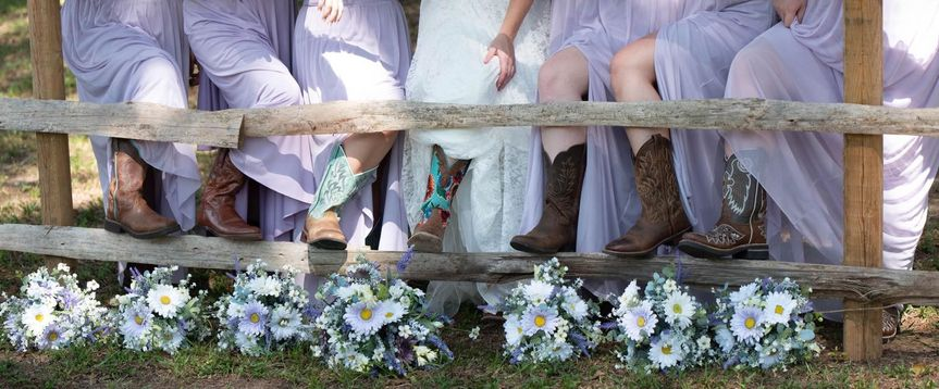 Boots and Bouquets!