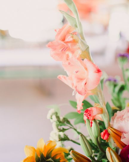 Floral details - Kasey Kathleen Photography