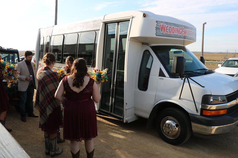 15 passenger shuttle for guest