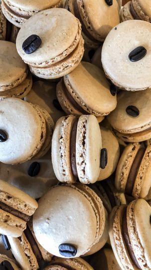 Espresso Macarons