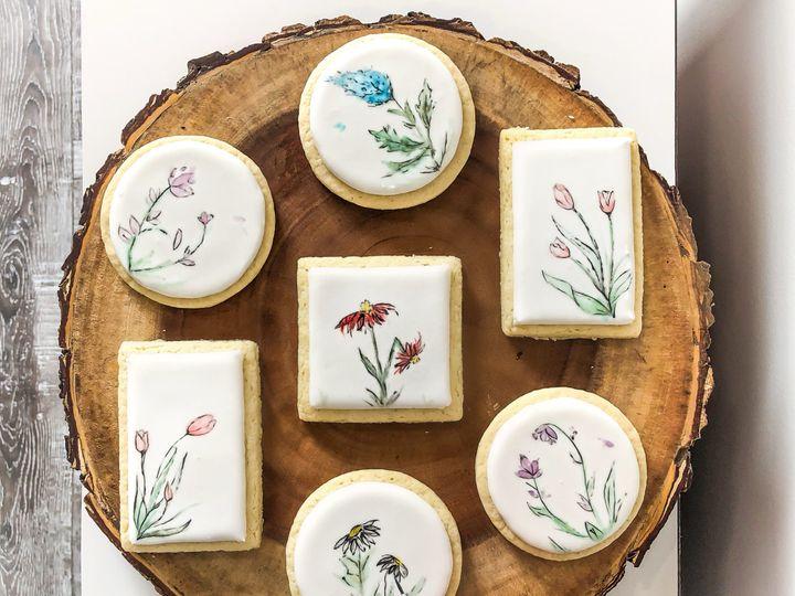 Tmx Wildflower Cookies 51 1974493 159481950778681 York, ME wedding cake