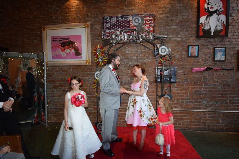 The Couple With Wedding Attendants Flower Girls: Funny Shotgun Wedding Invitations At Websimilar.org