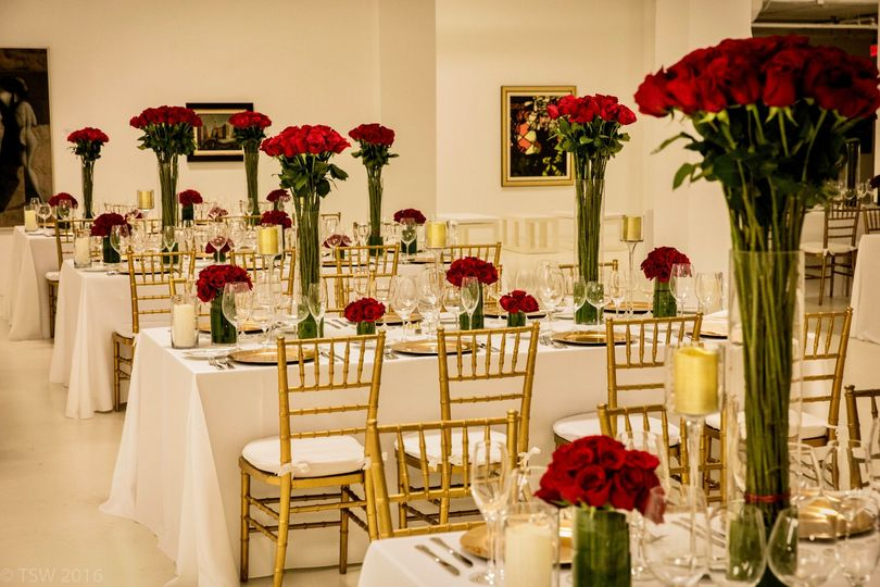 Red Rose reception