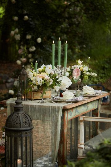Belle Terre Floral specializes in creating magical, fairytale settings.