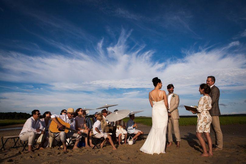 Wellfleet Wedding, Cape Cod