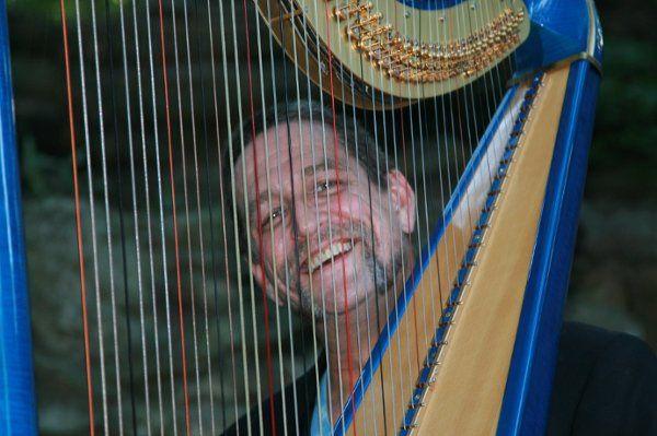 harpist Geoffrey Ricketts