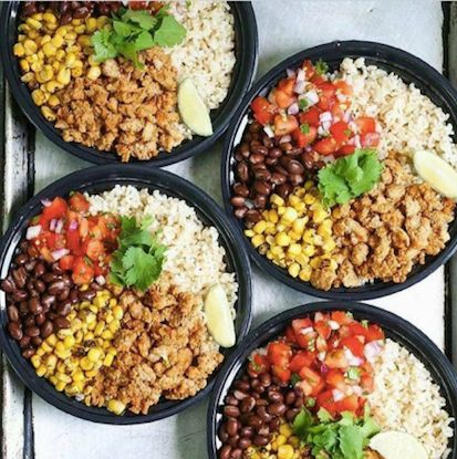 Brown Rice Chronito Bowls