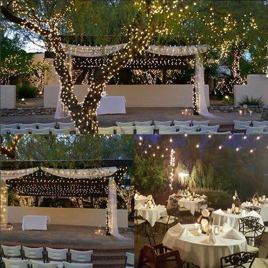 Performance Garden Ceremony & Garden Bistro Reception