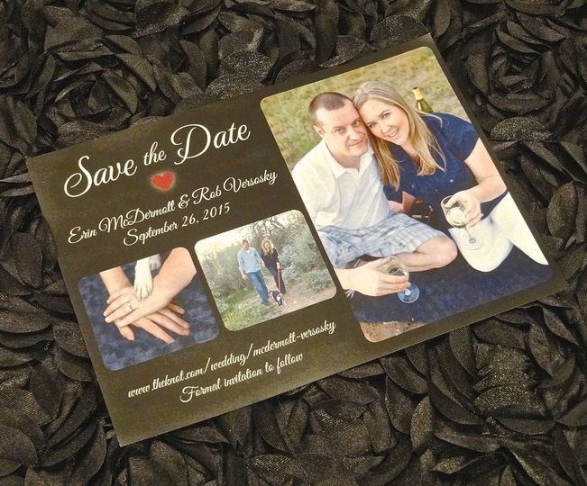 erin and rob save the date