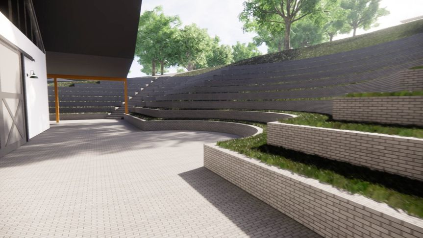 Rendering of the property