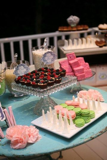 JCE customized dessert station!