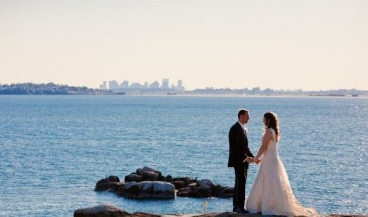 Tmx 1395236895538 Private Estate Wedding Boston Ma Waterfront 1 590x North Reading wedding dj