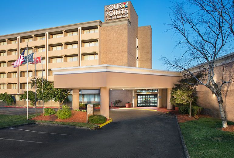 Exterior view of Four Points by Sheraton Kansas City Sports Complex